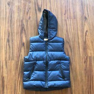 Zara Kids Basic Quilted Gilet w/Hood